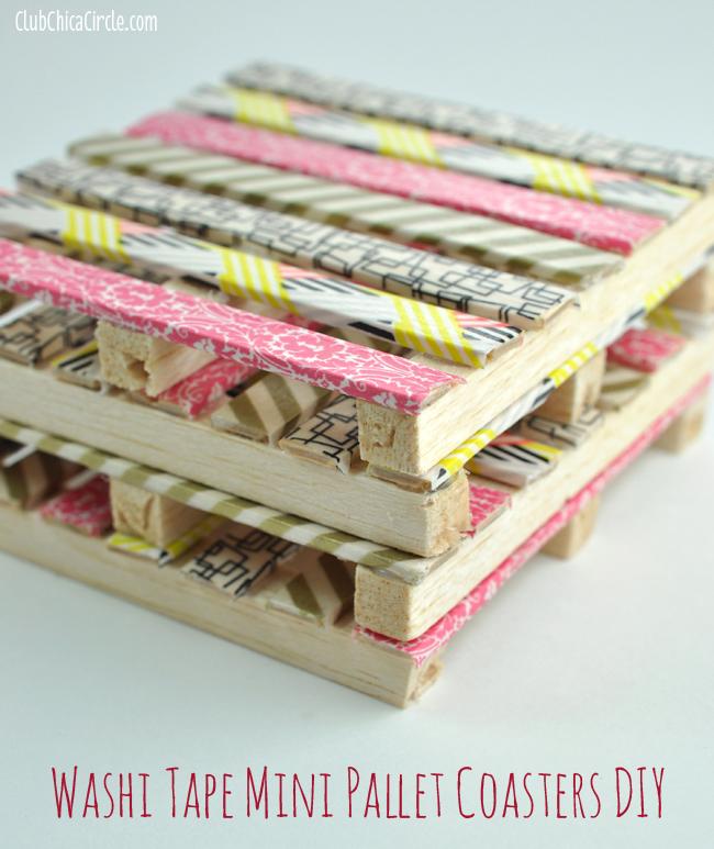 11 diy spring washi tape crafts to try shelterness. Black Bedroom Furniture Sets. Home Design Ideas