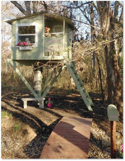 DIY San Pedro tree house (via www.treehouseguides.com)