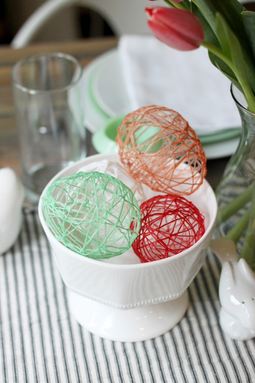 Diy yarn easter crafts and decorations to make