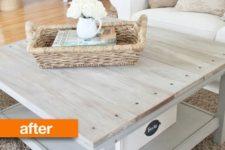 DIY Ikea Lack table farmhouse hack