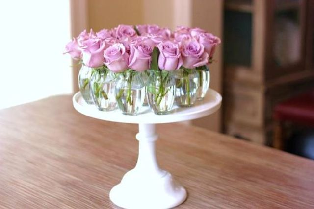 Sweet mother s day floral centerpieces shelterness