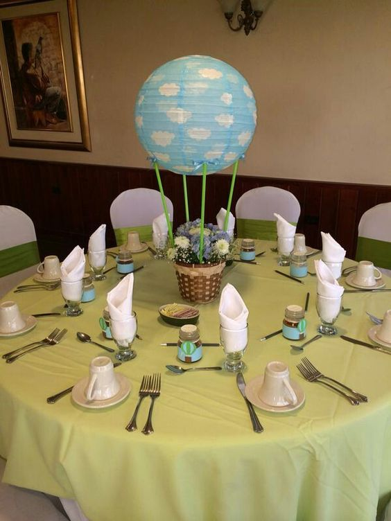 Paper lantern décor ideas for baby showers shelterness