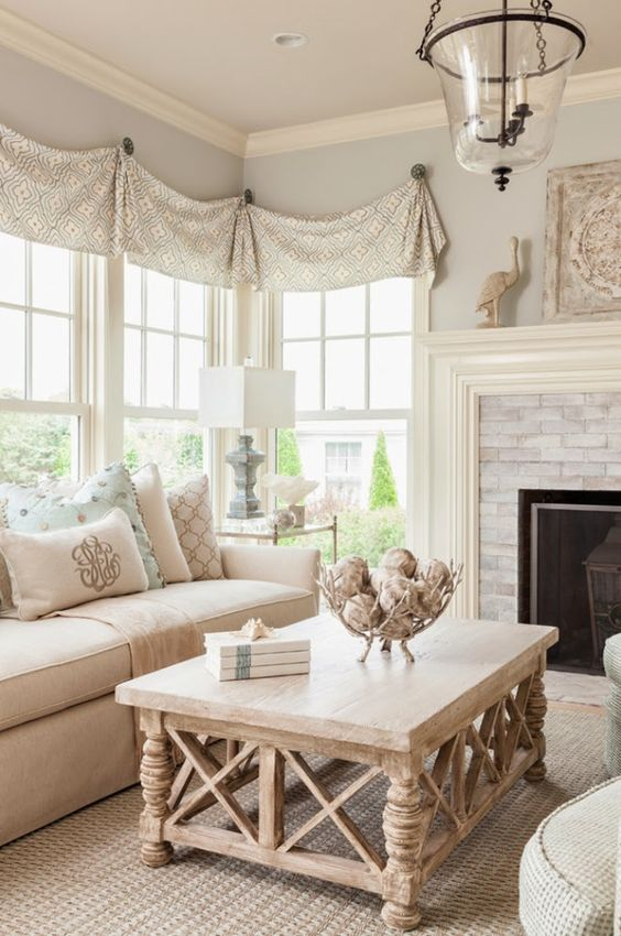 creamy and even blush shades are perfect for a girlish French country room