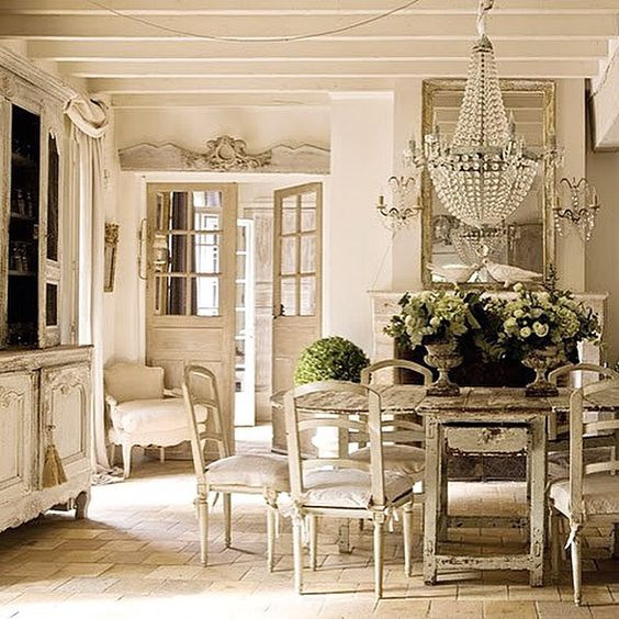 a crystal chandelier not only makes a statement but also add a textural feel