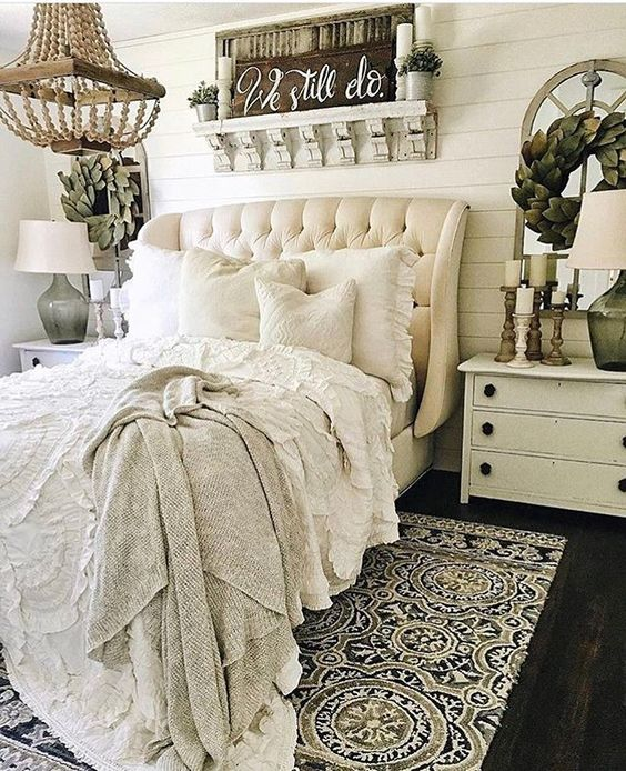 textiles and upholstery make this room cool and chic