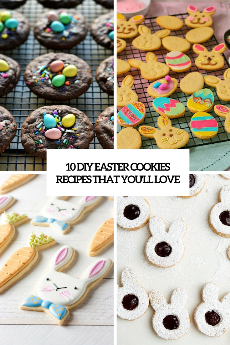 10 DIY Easter Cookies Recipes That You'll Love