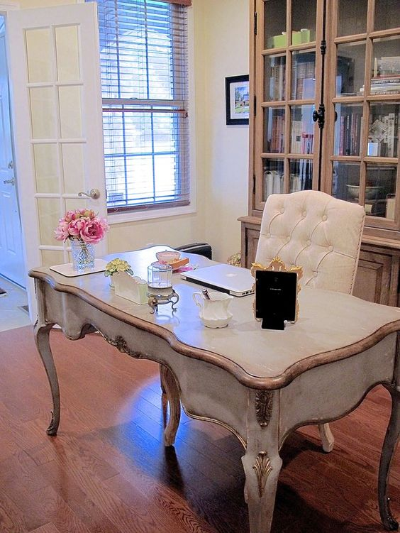 15 French Country Home Office D Cor Ideas Shelterness