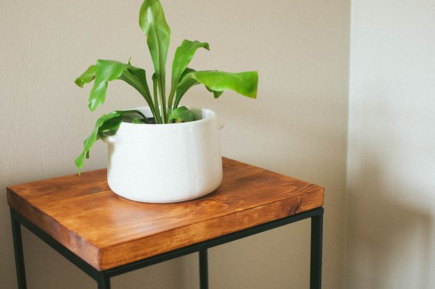 DIY Ikea side table hack (via www.thecleverbunny.com)