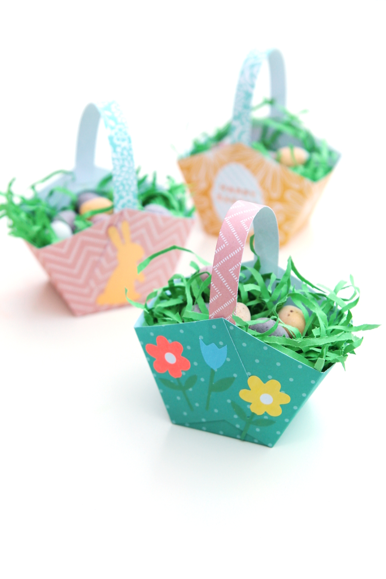 easiest DIY Easter egg baskets (via www.gatheringbeauty.com)
