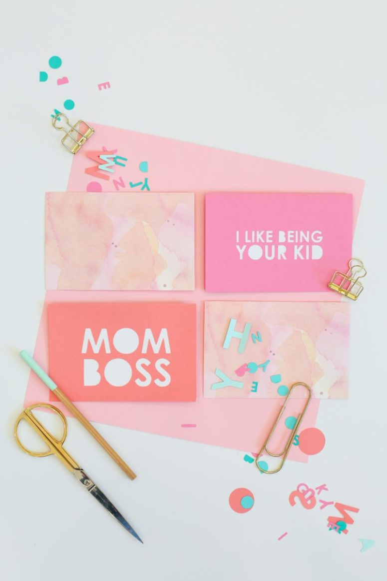 10 cute diy mother s day cards to make shelterness