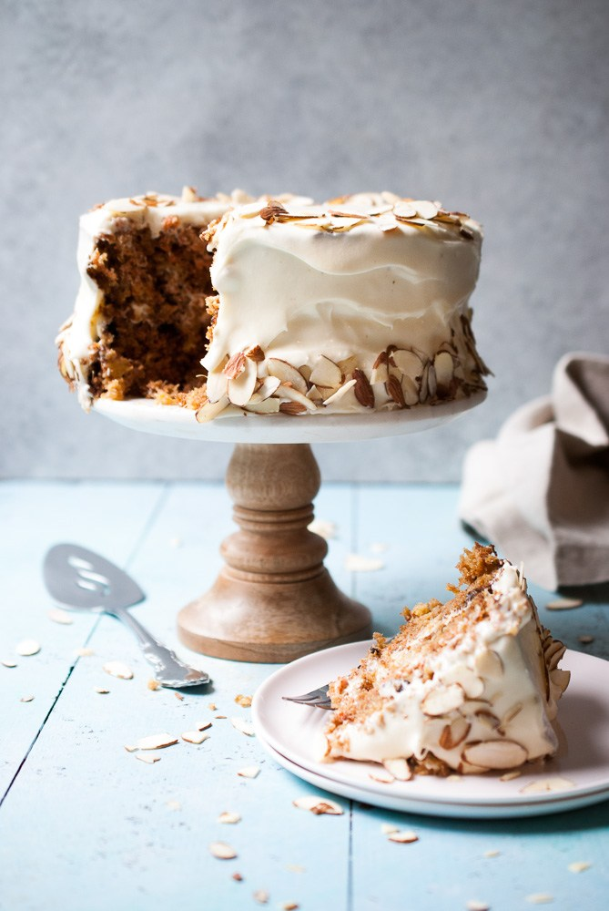 DIY carrot cake with creamy frosting (via www.lifeisbutadish.com)