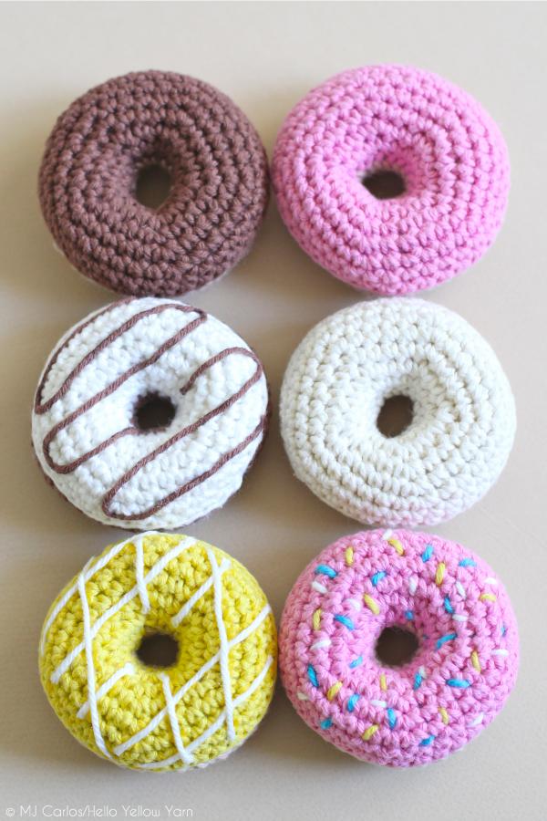 DIY amigurumi donuts (via https:)