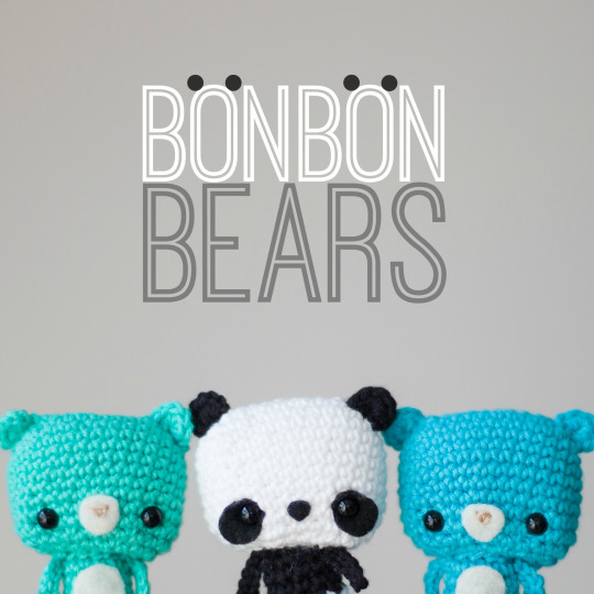 DIY amigurumi bonbon bears (via www.allaboutami.com)