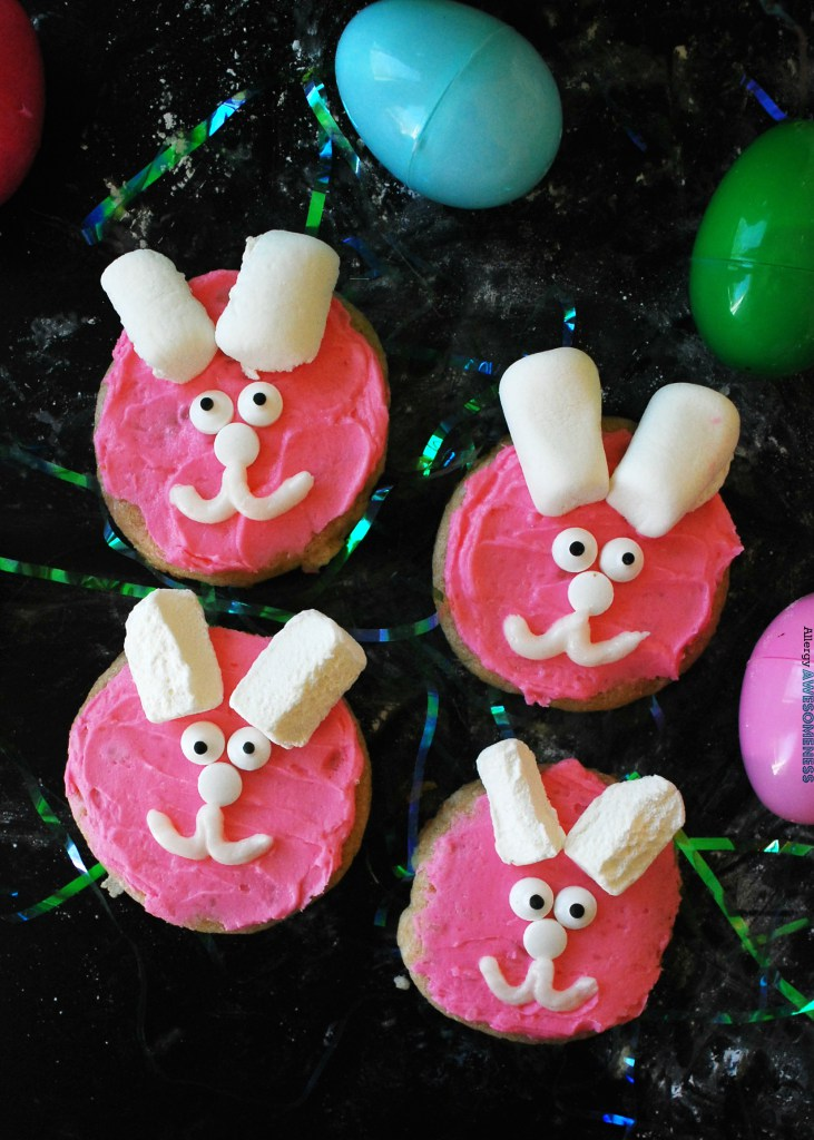 DIY Easter bunny sugar cookies