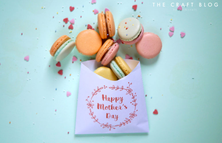 Mother's Day macaron paper bag (via https:)