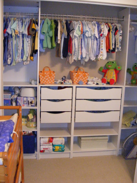DIY Ikea Bill shelf into a wardrobe (via www.southernrevivals.com)
