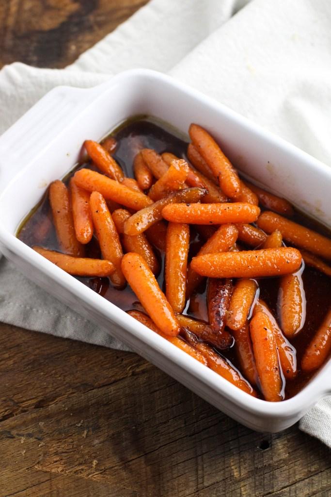 DIY honey braised carrots (via www.theculinarycompass.com)