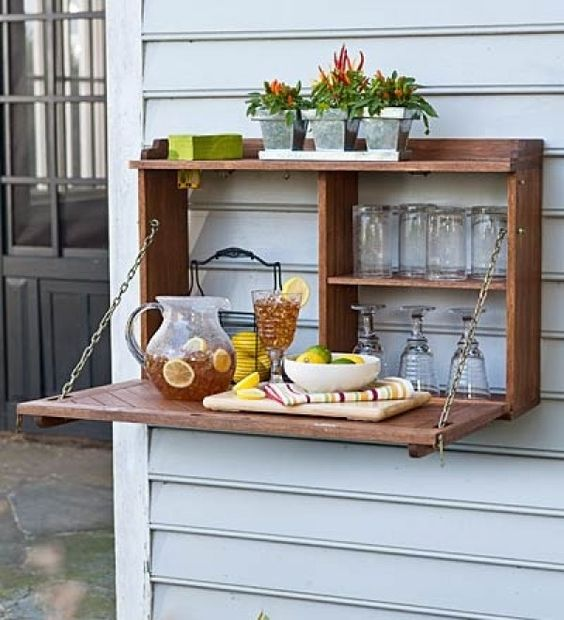 Murphy bar is a popular piece for outdoor spaces
