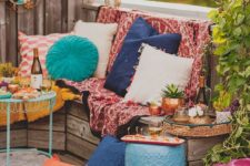 02 super bold terrace with printed textiles and bold furniture