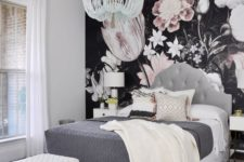 03 large scale blush flower wallpaper for just one all to make a statement