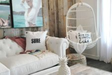 06 create a photo wall with your beach pics, there's nothing more inspiring and cool