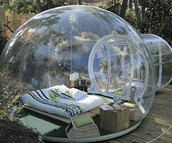 comfy bubble tents for ideal for sleeping and just spending time outdoors