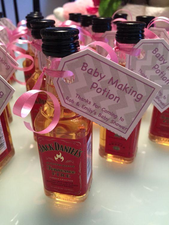 Jack Danielu0027s Mini Bottles With Humorous Tags