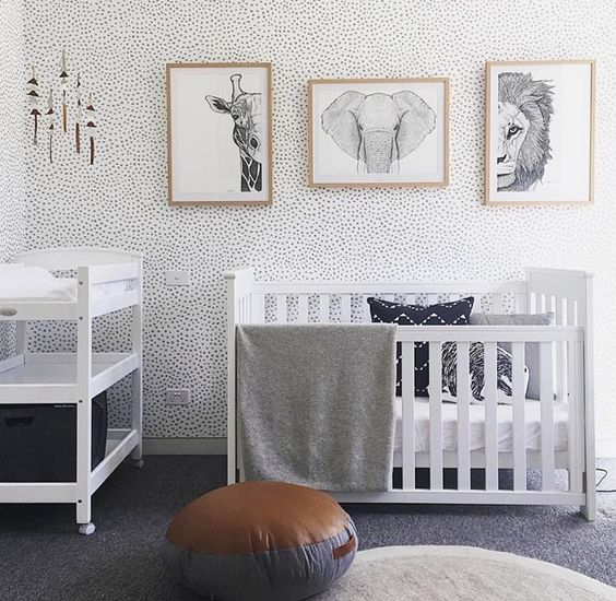 Bedroom Decorating Ideas Girls Bedroom Wallpaper Yellow Toddler Bedroom Boy Ideas Best Bedroom Colors: 20 Gender Neutral Nursery Artwork Ideas