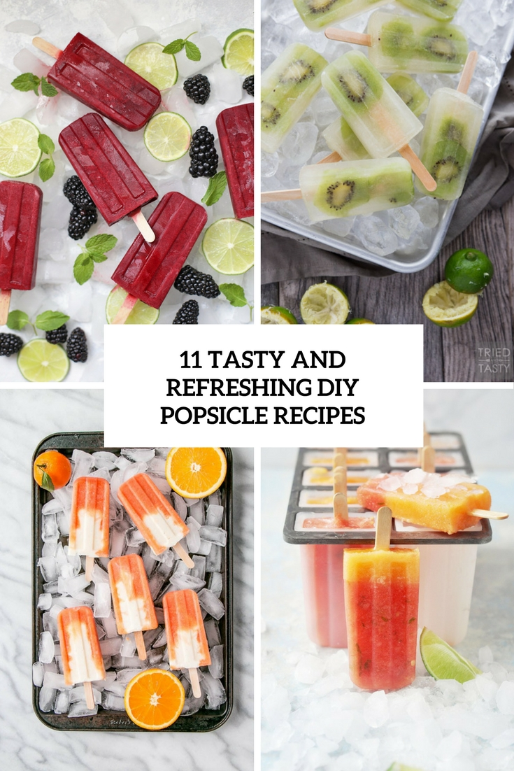 tasty and refresing diy popsicle recipes cover
