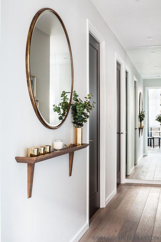 Mirror In Hallway 20 gorgeous oversized entrance mirror ideas - shelterness