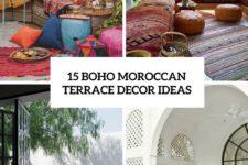 15 boho moroccan terrace decor ideas cover