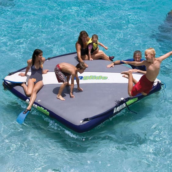 floating private island will be a nice fun for kids