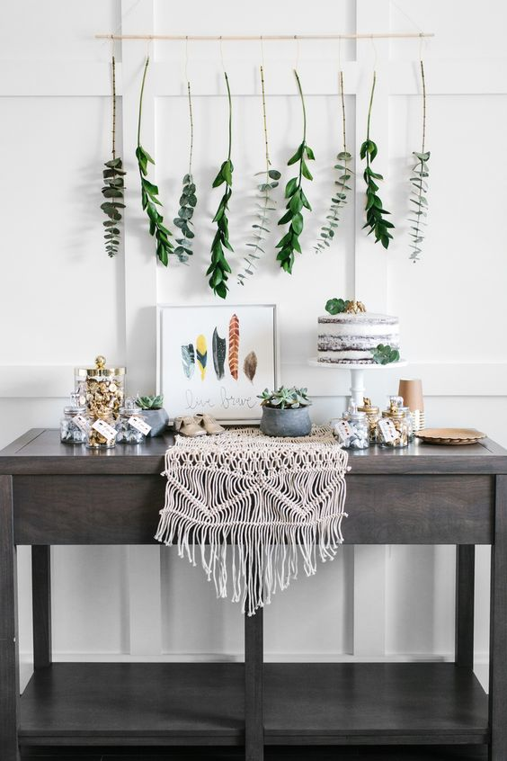 18 Fresh Greenery Baby Shower D 233 Cor Ideas Shelterness