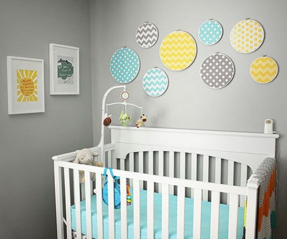 Tips For Decorating A Small Nursery: 20 Gender Neutral Nursery Artwork Ideas