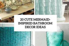 20 cute mermaid-inspired bathroom decor ideas cover