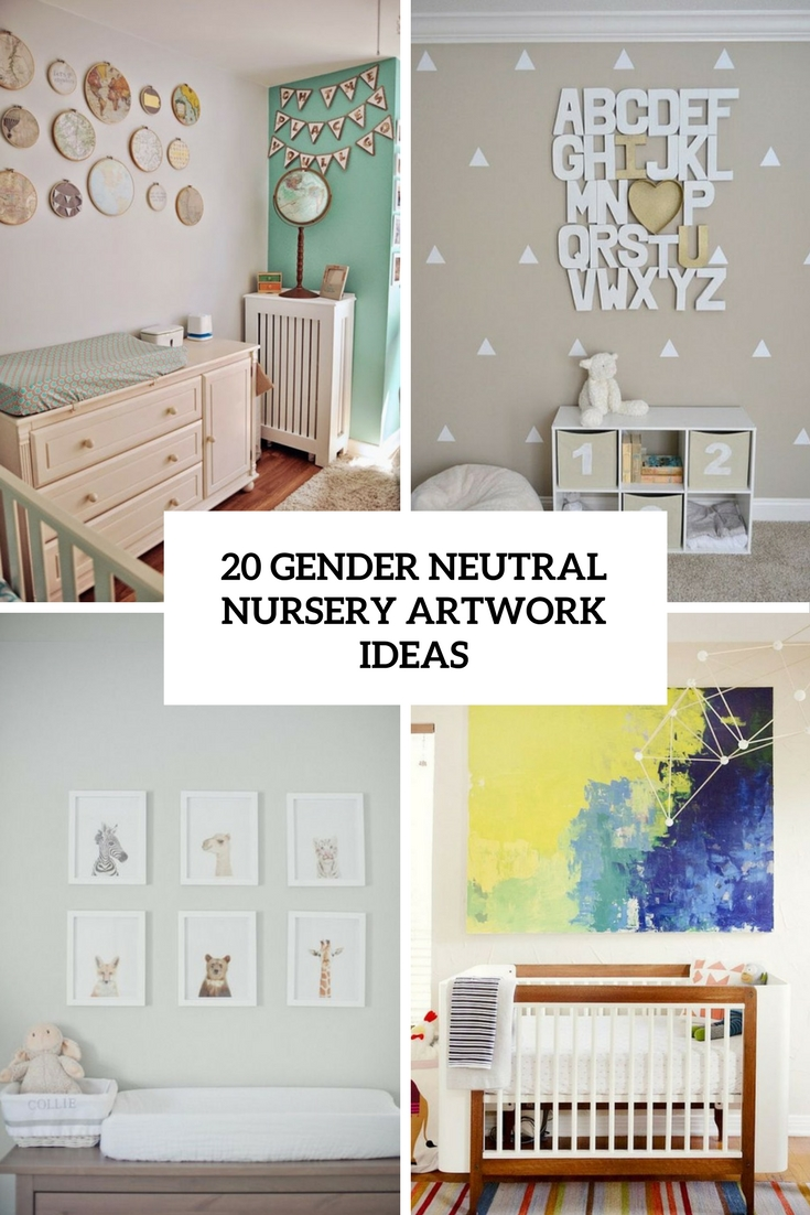 20 Gender Neutral Nursery Artwork Ideas