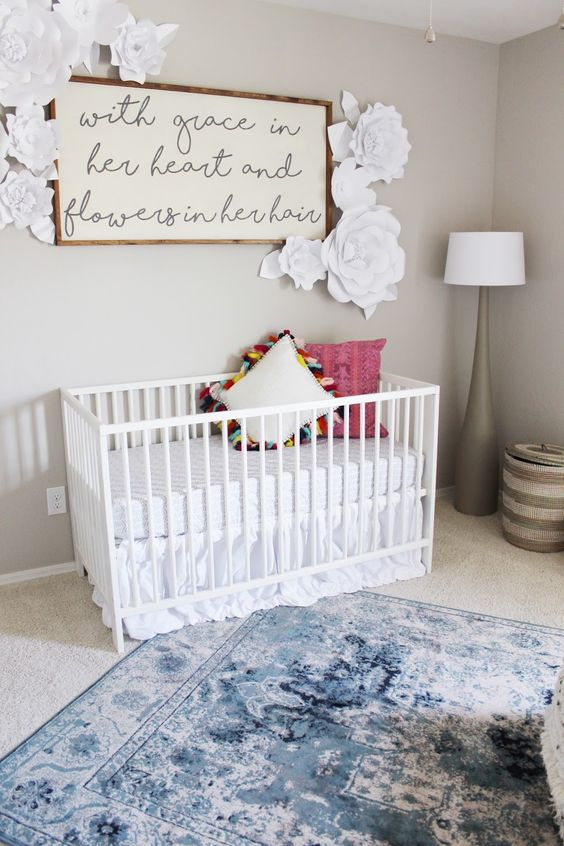 20 Cutest Girl S Nursery Artwork Ideas Shelterness