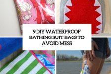 9 diy waterproof bathing suit bags to avoid mess cover