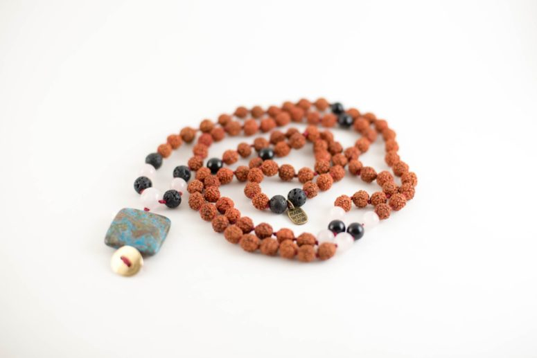 DIY mala beads necklace (via https:)