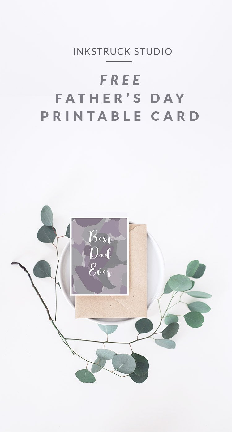 DIY free printable abstract card in grey shades (via www.inkstruck.com)