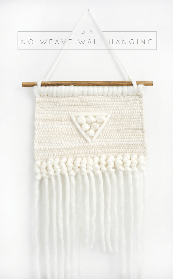 DIY no weave wall hanging (via brepurposed.porch.com)