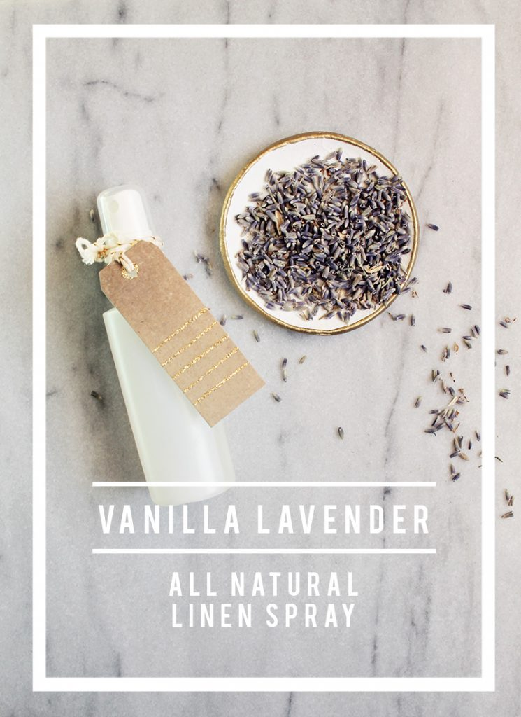 DIY vanilla lavender linen mist (via www.lifenreflection.com)
