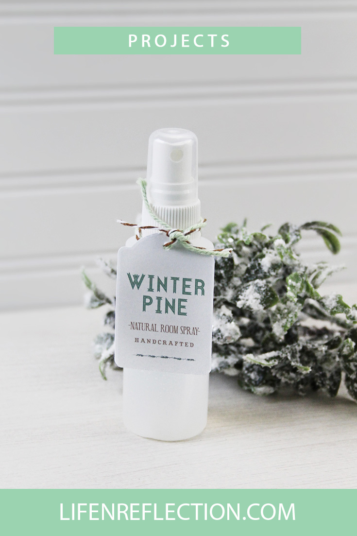 DIY winter pine room and linen spray (via https:)