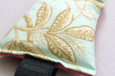 DIY aromatherapy eye pillow