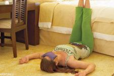 DIY savasana eye pillow
