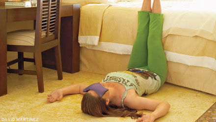 DIY savasana eye pillow (via www.yogajournal.com)