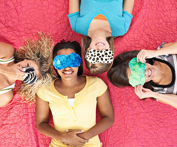 DIY eye pillows (via www.bhg.com)