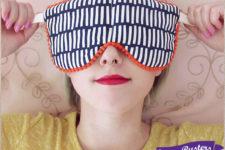 DIY soothing eye pillows