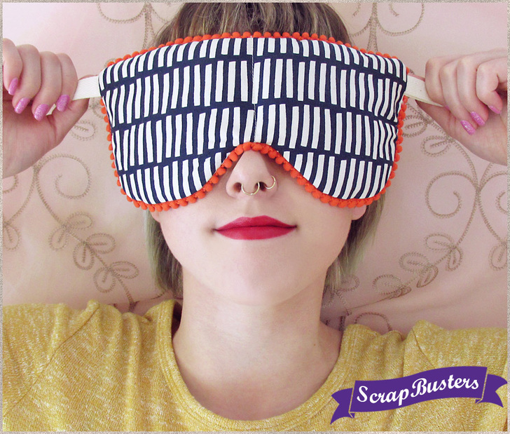 DIY soothing eye pillows (via www.sew4home.com)