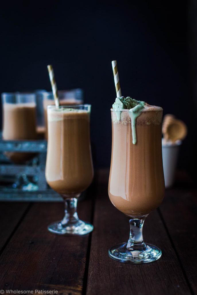 DIY milk chocolate milkshake (via wholesomepatisserie.com)